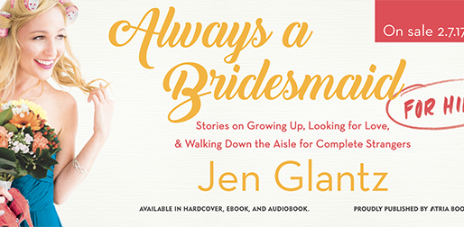 FROM ALWAYS A BRIDESMAID FOR HIRE BOOK TOUR