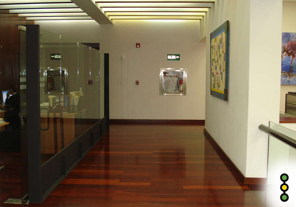 Pasillo interior