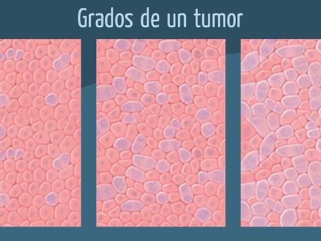 ¿Qué es el grado de un tumor?