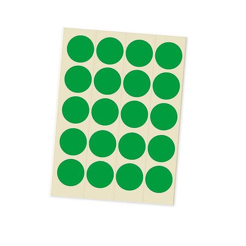 Точки для голосования зеленые