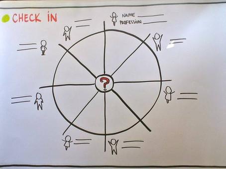 Визуальный шаблон для знакомства