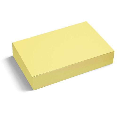 Большие бумажные прямоугольники PinIt без клеевого края, 250 шт