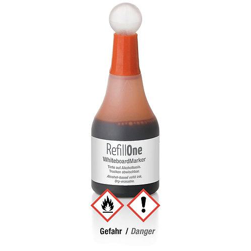 W600, Чернила для маркера для белой доски оранжевого цвета