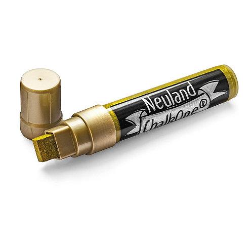 Меловой маркер Neuland ChalkOne® золотой (С 554), ширина линии 5-15 мм