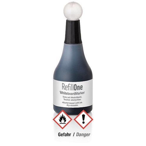 W100, Чернила для маркера для белой доски черного цвета