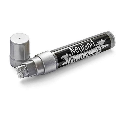 Меловой маркер Neuland ChalkOne® серебряный (С 551), ширина линии 5-15 мм