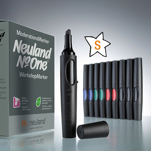 Набор маркеров, Neuland No.One®, 10 штук (цвета в ассортименте)