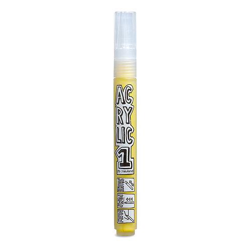 Маркер AcrylicOne MEDIUM (АС506), цвет желтый