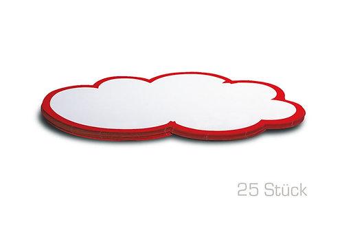 Карты облака средние, 42 x 25 см, 25 штук