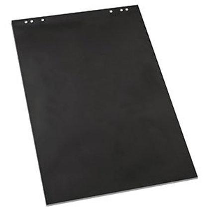 Чёрная бумага для флипчартов,  20 листов