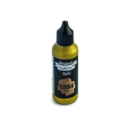 Чернила меловые Neuland ChalkOne®, С554, золотой
