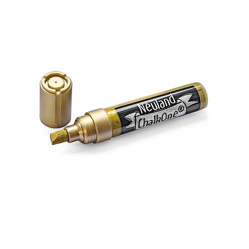 Меловой маркер Neuland ChalkOne® золотой, ширина линии 2-8 мм