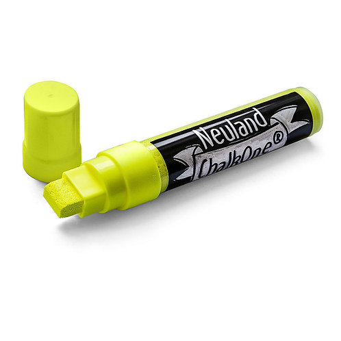Меловой маркер Neuland ChalkOne® желтый (С 506), ширина линии 5-15 мм