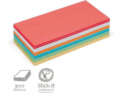 Прямоугольные карты Stick It, ассорти, с клеевым краем,  300 штук