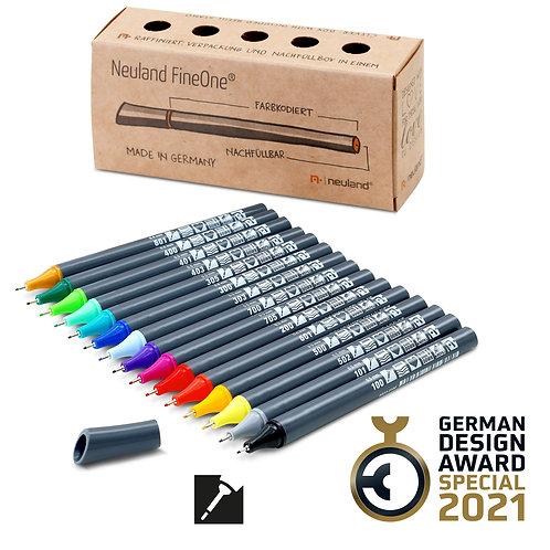 Набор маркеров Neuland FineOne® Sketch  0.5 mm ,  15 шт