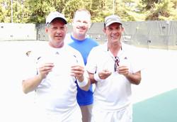 "Men's ""B"" Singles Finalists"