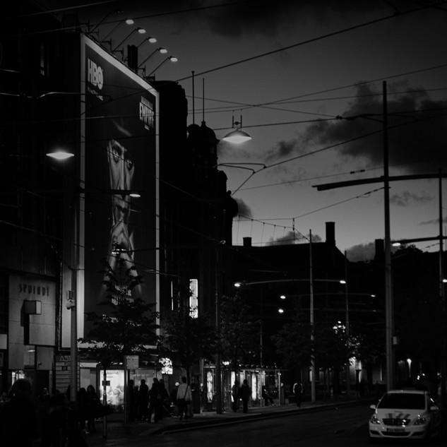 Den Haag at night