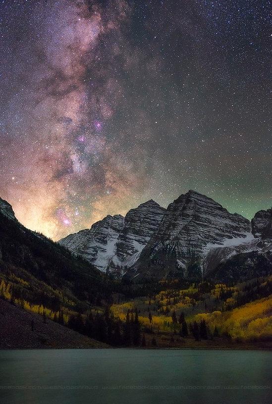 Milky Way, Wisnanu Boonrawd, Cosmic, Universe, Ascension, Awakening