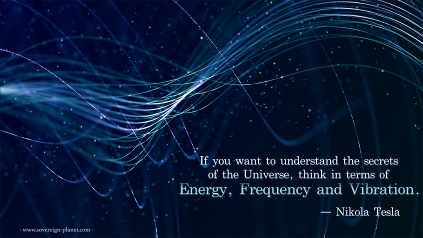Tesla, energy, frequency, vibrations, quote
