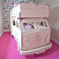 VW Split Screen Camper Van Theme Bunk Bed by Fun Furniture Colection
