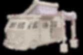 VW Slammed Custom Pop Top Camper Van Single Bed by Fun Furniture Collection