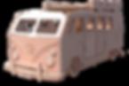 VW Slammed Custom Camper Van Single Bed