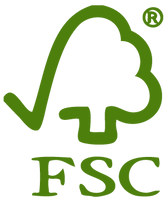 FSC logo, as all our material is FSC sustainable when making our Fun Furniture Collection kids theme single and bunk beds.