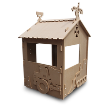 Construction Cabin Paint'n'Play Play house by Fun Furniture Collection