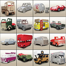 Ex Display Special offers page by Fun Furniture Collection, home of kids theme beds, storage, toy boxes and playhouse