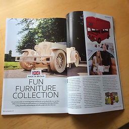 Fantastic six page article from the editor Simon Hastelow of MOG Magazine ( Morgan's Owner Group) telling their readers about Fun Furniture Collection and their great range of childrens theme single and bunk bed