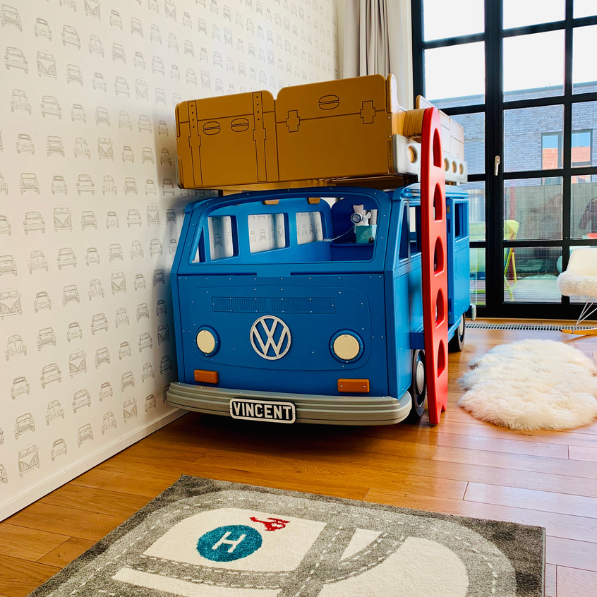 Bay Camper Van Bunk bed in Germany