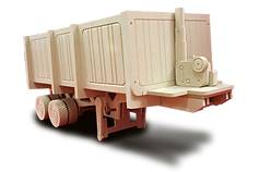 Tipper trailer toy box by makers of theme kids and single beds by Fun Funiture Collection