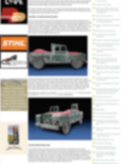 Fun Furniture Collection makers of handmade to order kids theme bed  in showing the Land Rover Series 1 Kids Single theme bed in a press article