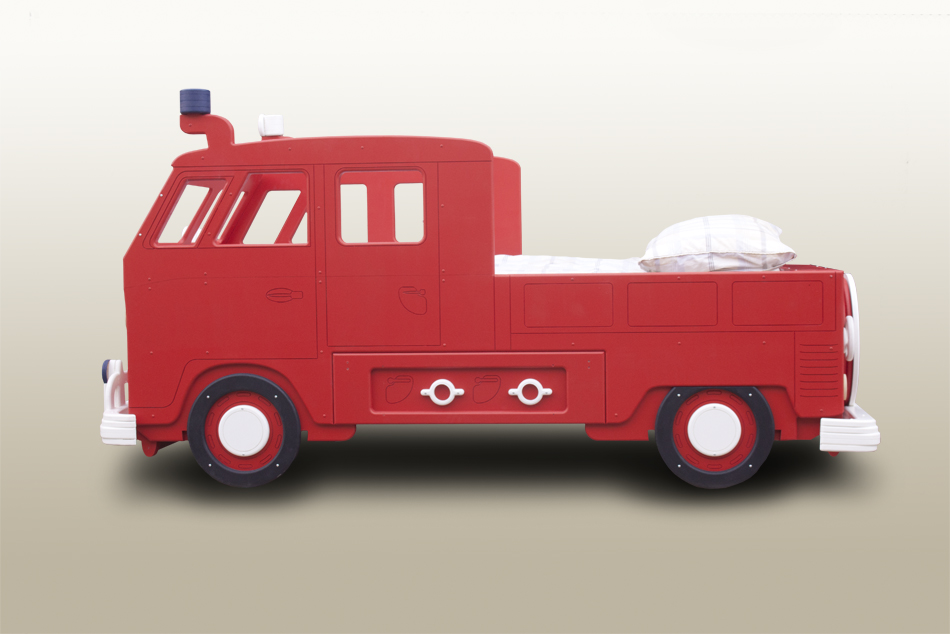 Fire Engine single theme bed