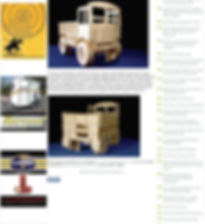 Fun Furniture Collection makers of handmade to order kids theme bed  in showing the AEC Matador Kids Single theme bed in a press article