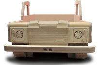 Land Rover 110 Road single theme kids bed by Fun Furniture Collection
