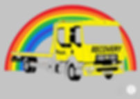 Picture of AA recvery truck by Sean from Cannock. Picture drawn by Fun Furniture Collection, home of childrens theme beds, storage and toy boxes