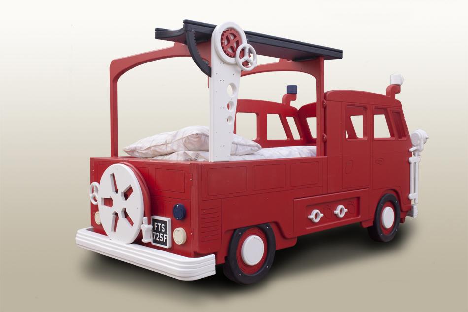 Fire Engine single bed with ladder