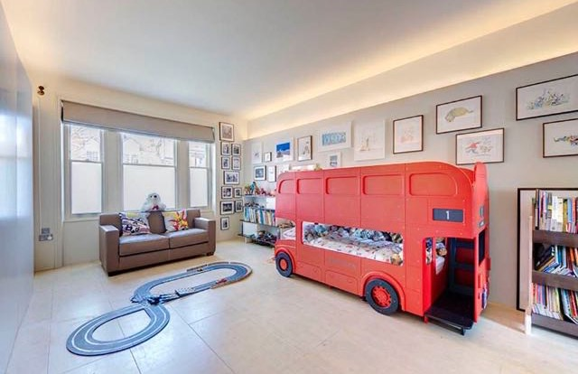 Route Master London Bus Bunk bed