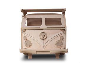 Split Screen T1 Camper van Storage Unit by Fun Furniture Collection