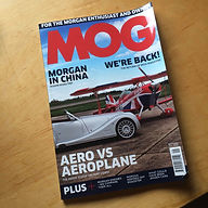 Front cover of September 2017 MOG issue showing Fantastic six page article from the editor Simon Hastelow of MOG Magazine ( Morgan's Owner Group) telling their readers about Fun Furniture Collection and their great range of childrens theme single and bunk bed