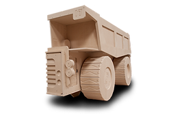 Dump Truck Storage Unit by makers of theme kids single and bunk Beds by Fun Furniture Collection