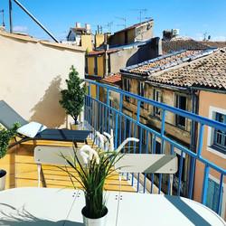 Un appartement Duplex avec terrasse