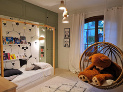 La chambre après