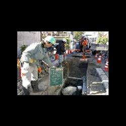 下水道管埋没工事