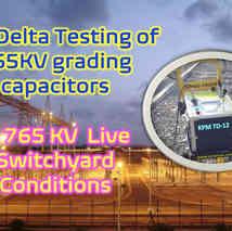 Tan Delta Testing @ 765KV