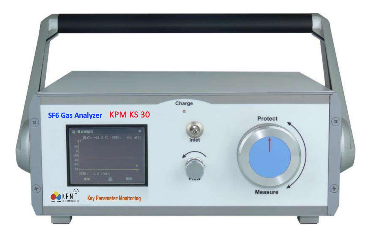 KPM KS30-SF6 gas analyzer