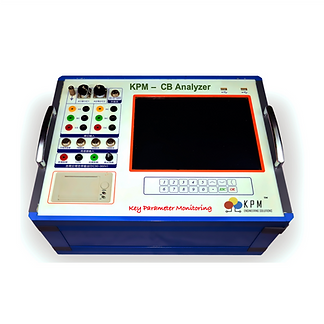 KPM CB Analyzer is an all in one equipment for testing of circuitbreakers