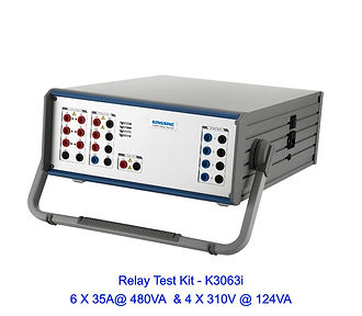 6 phase relay test kit fully automatic