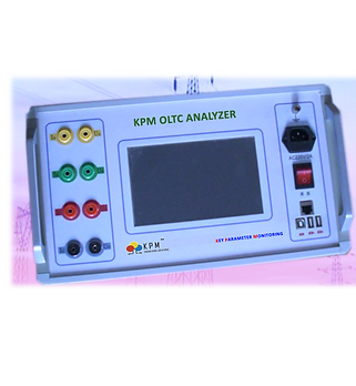 KPM OLTC analyzer is a combination of   Transition Timer & Winding Resistance Tester.